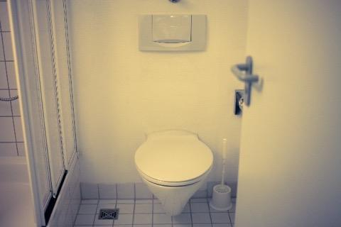 清潔なトイレ