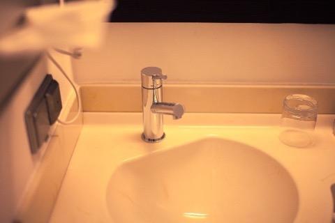 キレイな洗面台